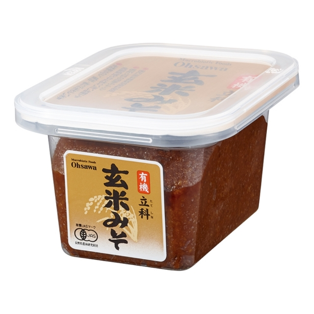 有機立科玄米みそ (カップ) 300g
