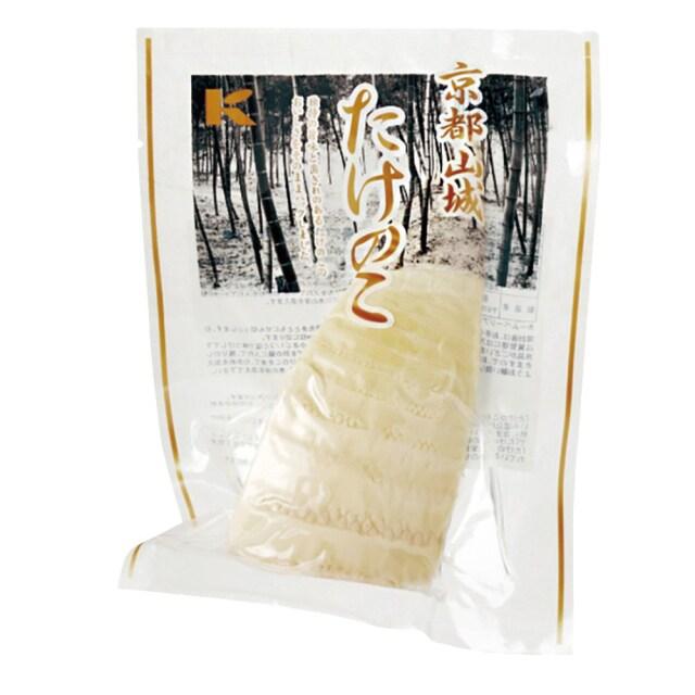 京都山城(やましろ)たけのこ(水煮カットタイプ) 150g 【季節品のため休止中】