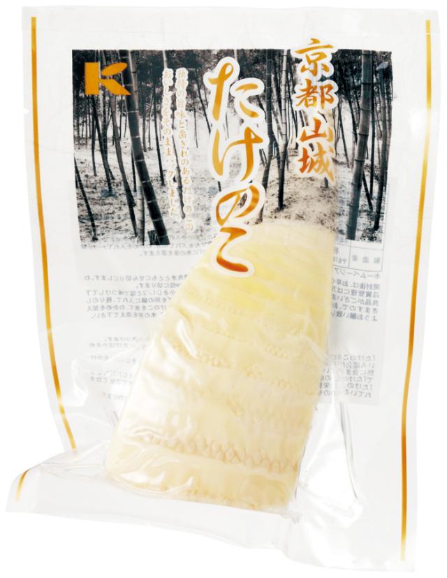 京都山城(やましろ)たけのこ(水煮カットタイプ) 150g 【季節品の為休止中】