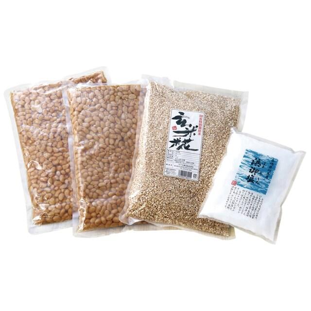 手作り玄米味噌セット (有機原料使用)(季節・数量限定品)【季節品の為休止中】