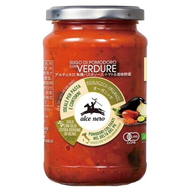 アルチェネロ 有機パスタソース(トマト&香味野菜) 350g
