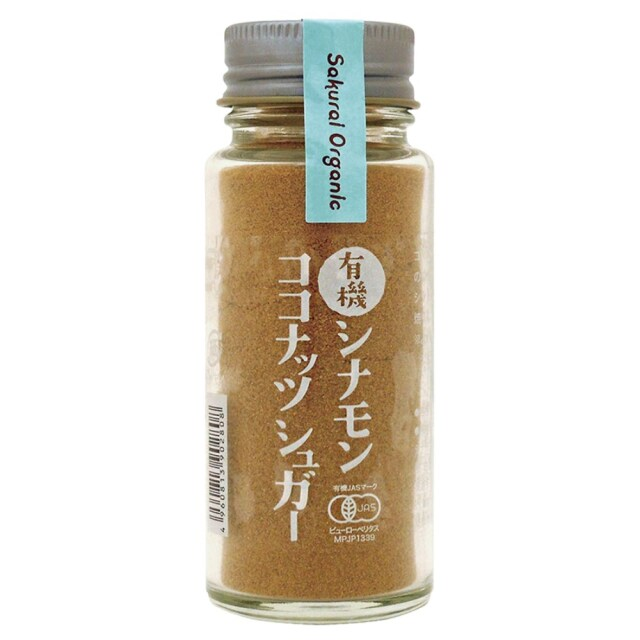 有機シナモンココナッツシュガー 35g