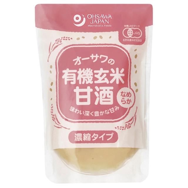 オーサワの有機玄米甘酒(なめらか) 200g