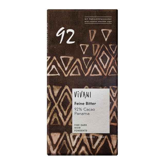 ViVANI(ヴィヴァーニ) オーガニック エキストラダークチョコレート 92% 80g