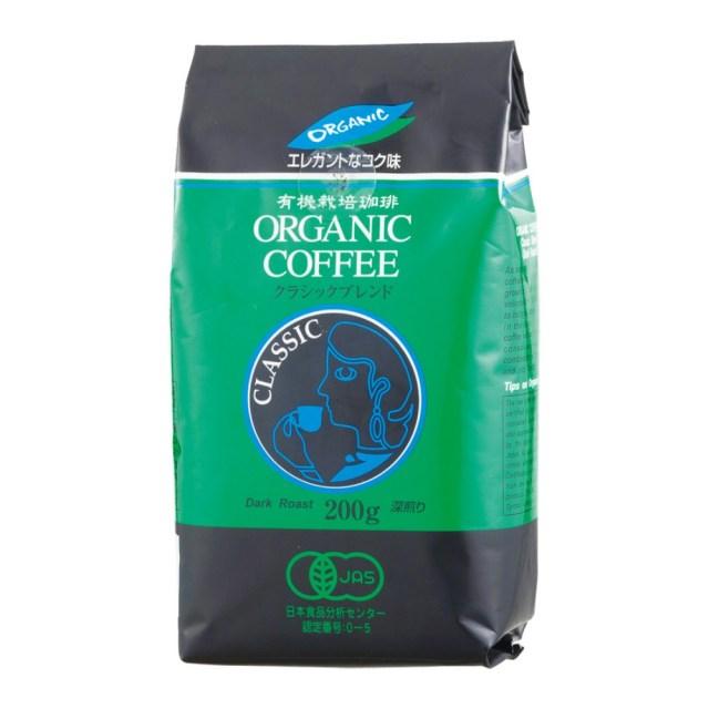 オーガニックコーヒー(クラシックブレンド・粉) 180g
