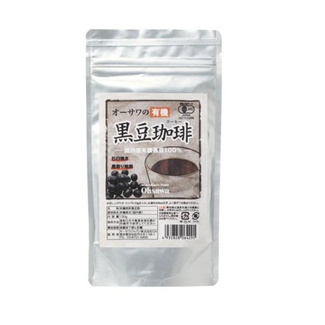 オーサワの有機黒豆珈琲 100g