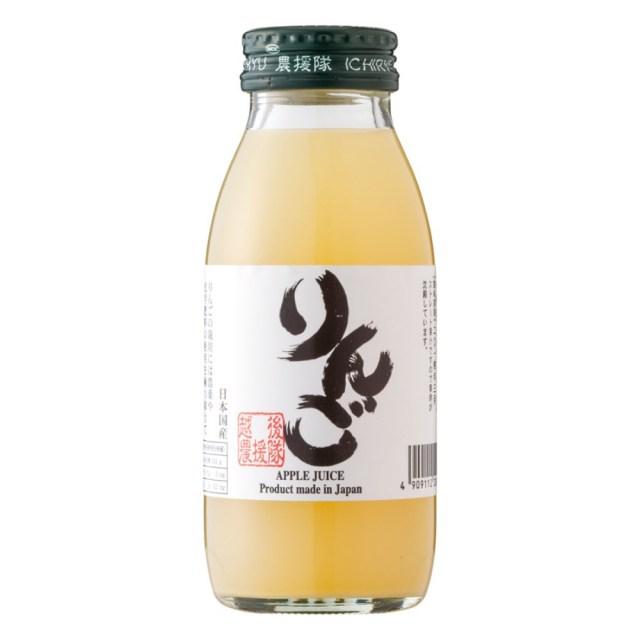 いち粒(りゅう) りんごジュース 350ml