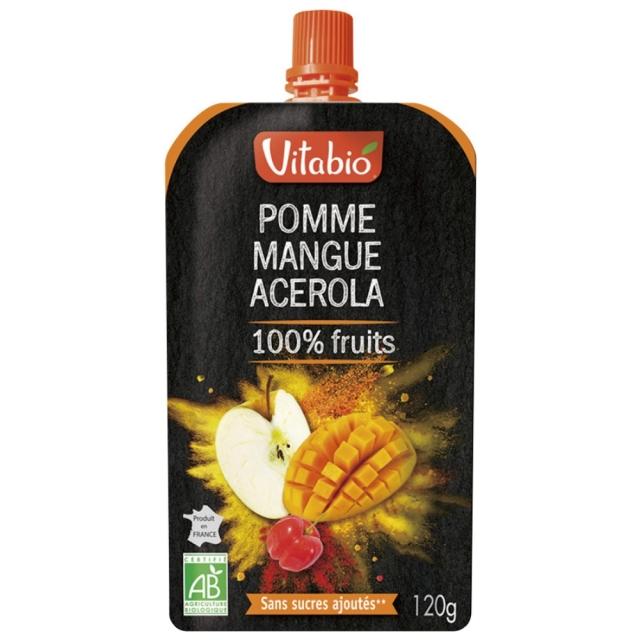 Vitabio フルーツスムージー(アップル・マンゴー・アセロラ) 120g