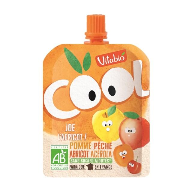 Vitabio クールフルーツ アップル・ピーチ・アプリコット 90g