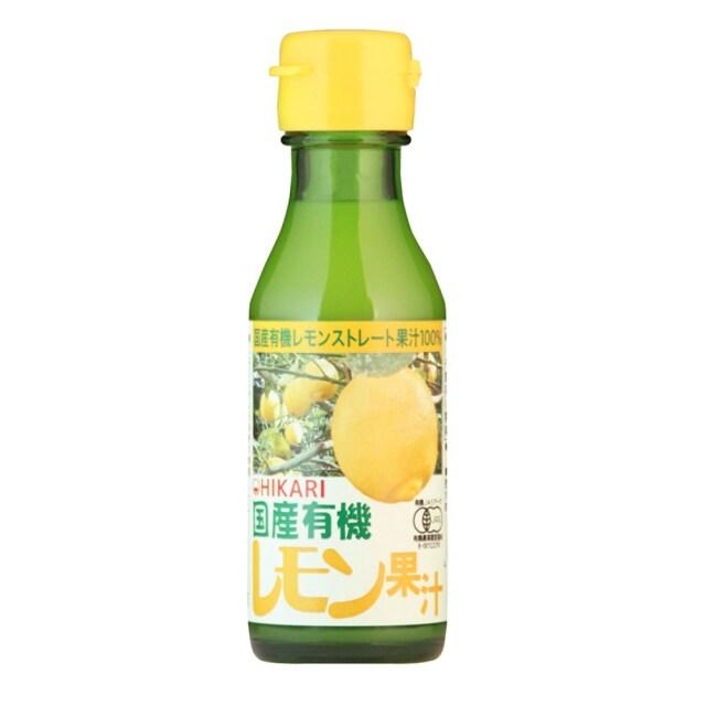 国産有機レモン果汁 100ml