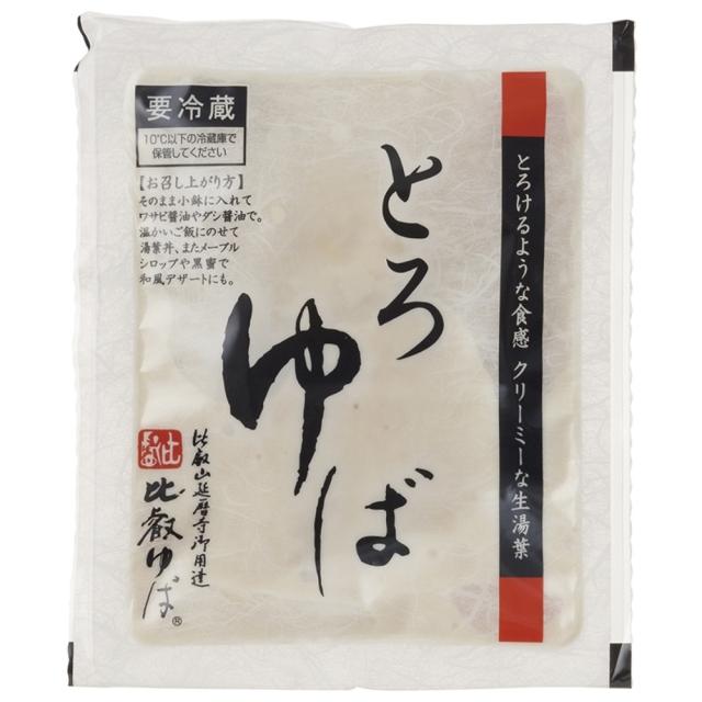 【冷蔵品】 比叡(ひえい)とろゆば 180g