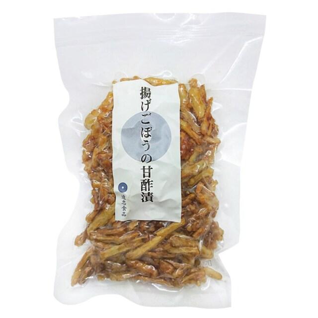 【冷蔵品】 揚げごぼうの甘酢漬 80g