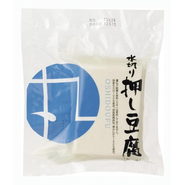 【冷蔵品】 水切り押し豆腐 220g