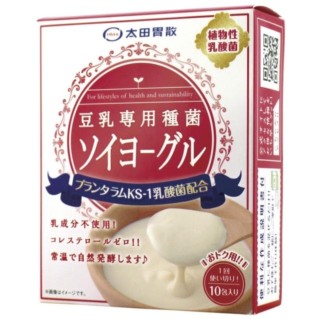【冷蔵品】 豆乳専用種菌 ソイヨーグル 15g(1.5g×10包)