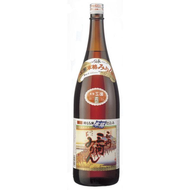 【酒類】三州(さんしゅう)三河みりん 1.8L【リマセレクション】
