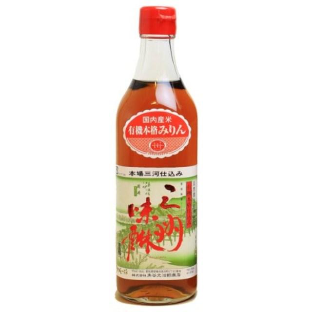 【酒類】有機三州(さんしゅう)味醂 500ml 【リマセレクション】