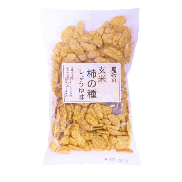 【リマ セレクション】 星六の玄米柿の種(しょうゆ味) 100g