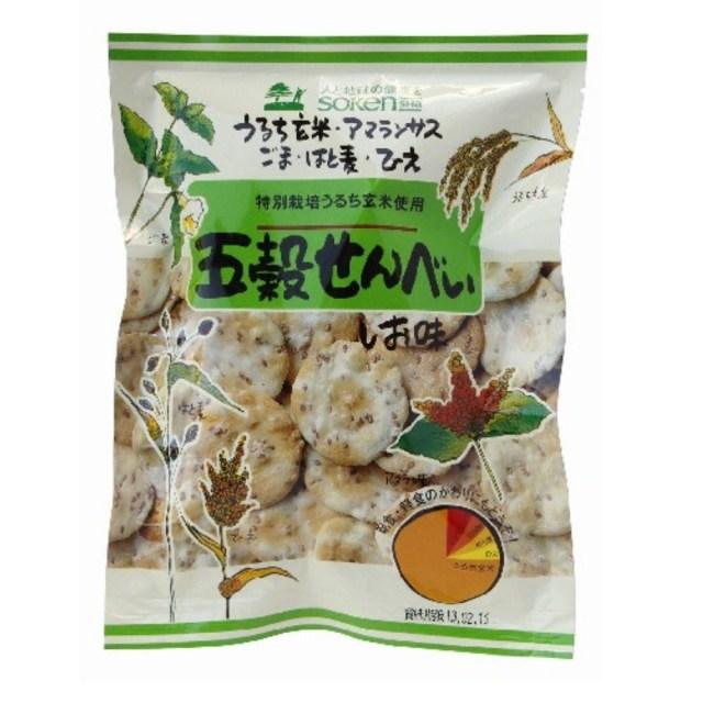 【リマセレクション】 五穀せんべい しお味 90g