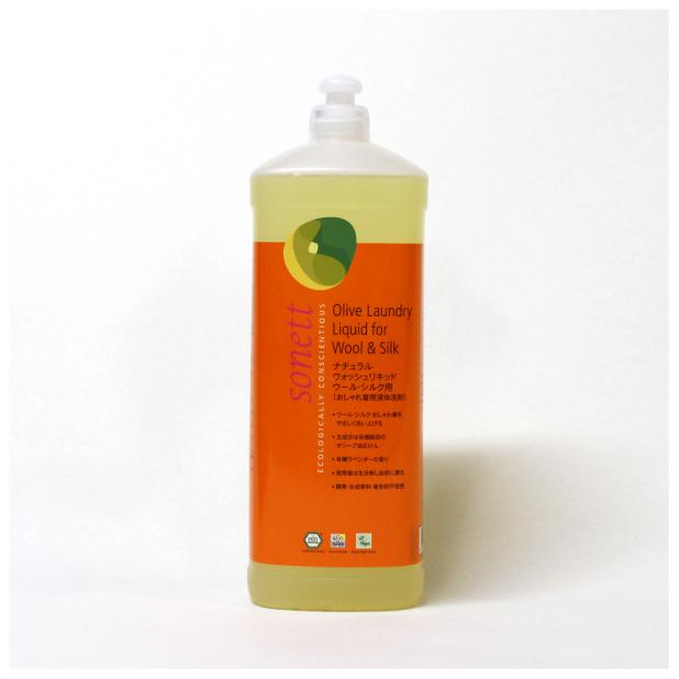 【リマセレクション】 ソネット ナチュラル ウォッシュ リキッド ウール・シルク用(おしゃれ着用液体洗剤) 1L