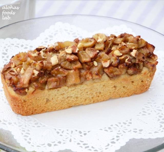 【リマ特選産直品】★期間限定★アロハス オーガニックバナナとアーモンドのパウンドケーキ
