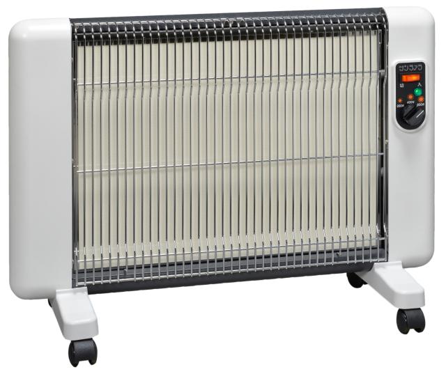 【リマ特選産直品】サンラメラ ヌーボー 610型(600W) シフォンホワイト【遠赤外線暖房機】
