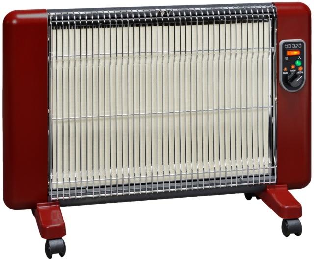【リマ特選産直品】サンラメラ ヌーボー 611型(600W) ボルドーレッド【遠赤外線暖房機】