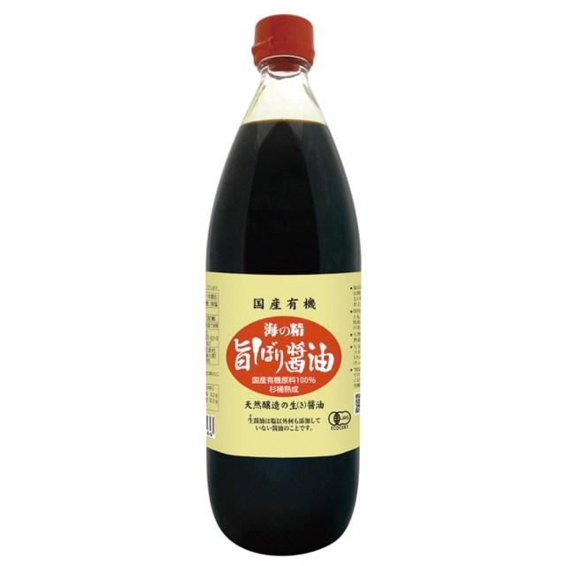 海の精 国産有機・旨しぼり醤油 1L