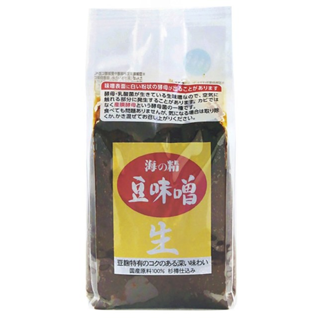 海の精 豆味噌 1kg