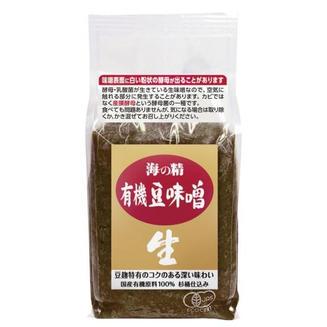 海の精 国産有機豆味噌 1kg