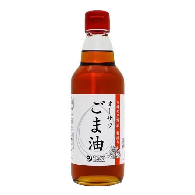 オーサワごま油(ビン) 330g