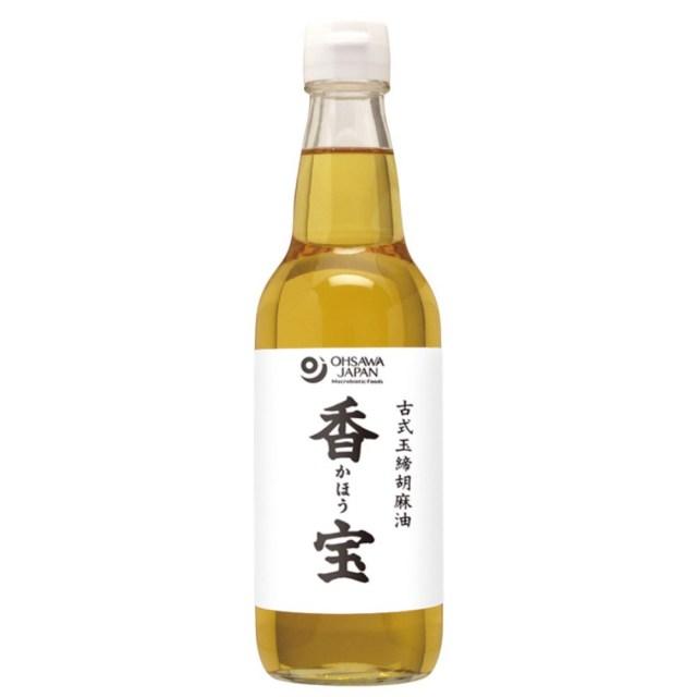 古式玉締胡麻油 香宝(かほう) (ビン) 330g