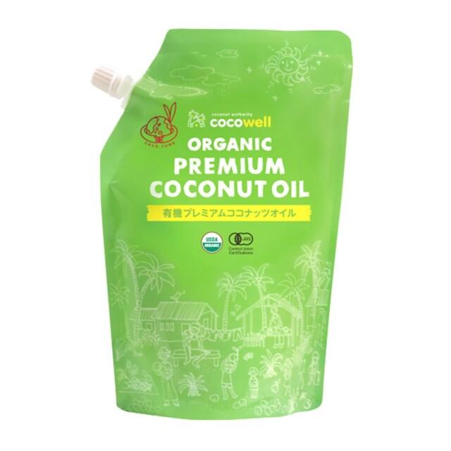 有機プレミアムココナッツオイル(無香タイプ) 460g(500ml)
