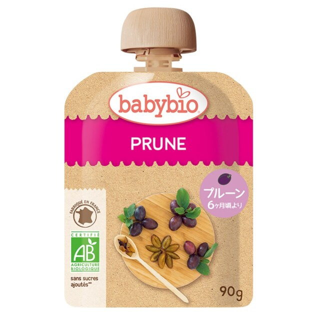 baby bio(ベビー ビオ) 有機ベビースムージー プルーン 90g