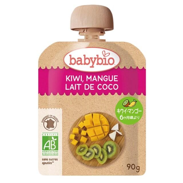 baby bio(ベビー ビオ) 有機ベビースムージー(キウイ・マンゴー・ココナッツ) 90g