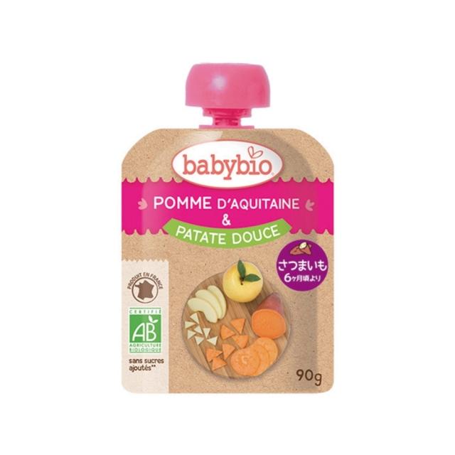 baby bio(ベビー ビオ) 有機ベビースムージー(アップル・スイートポテト) 90g