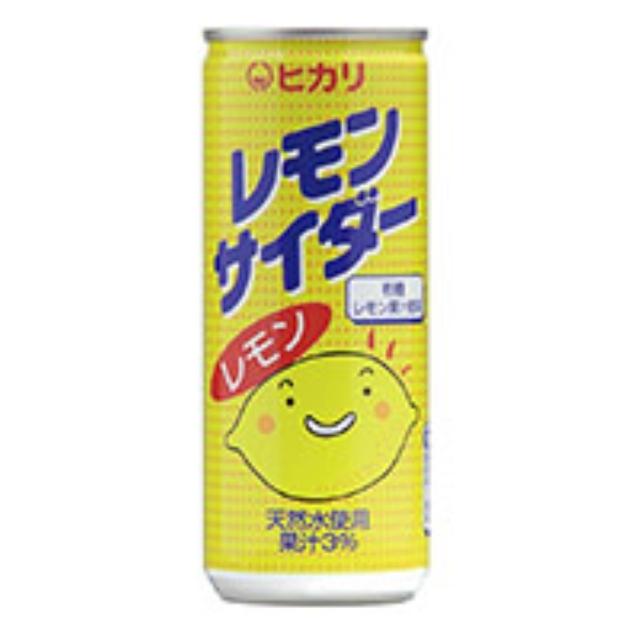 ヒカリ レモンサイダー 250ml