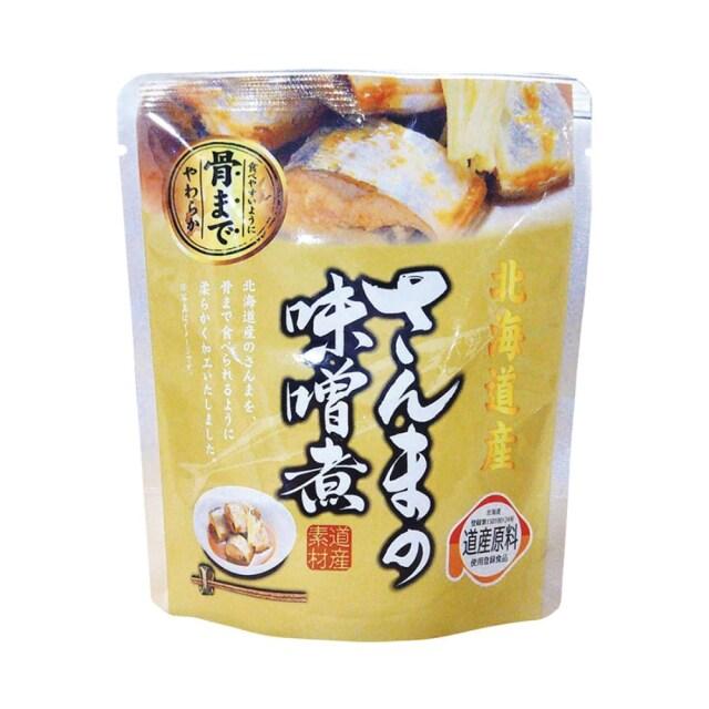 北海道産 さんまの味噌煮 95g(固形量70g) 【原材料不足の為休止中】