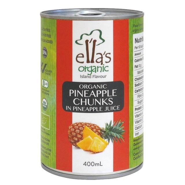 オーガニックパインアップル缶詰 400g(固形量230g) 【輸入待ちの為休止中】