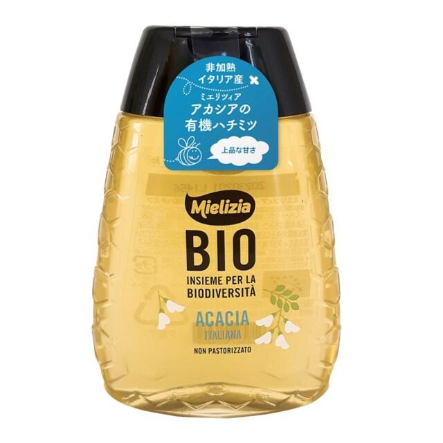 ミエリツィア アカシアの有機ハチミツ(スクイーザーボトル) 250g