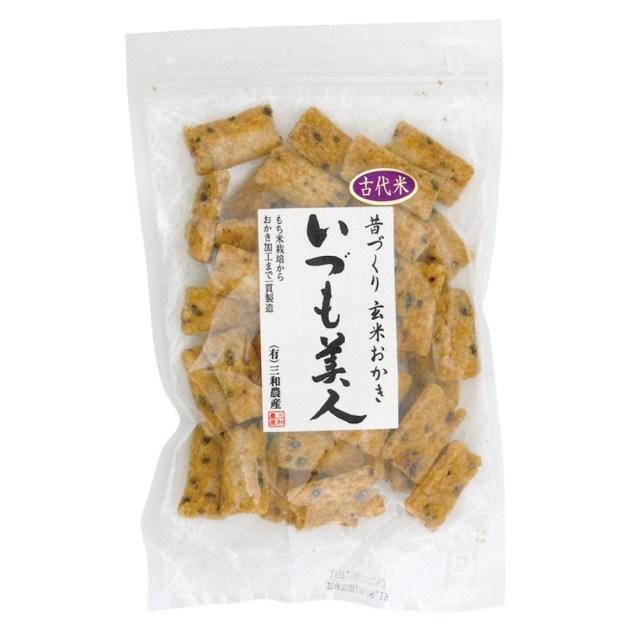 古代米入り玄米おかき(いづも美人) 100g