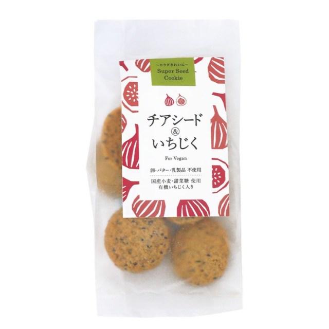 スーパーシードクッキー チアシード&いちじく 40g