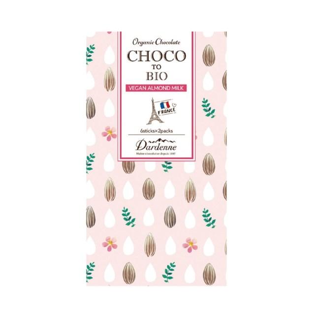 ダーデン チョコっとビオ 有機ココシュガーチョコレートアーモンドミルク 41g(6本入×2袋)