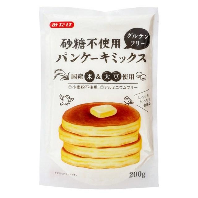 砂糖不使用グルテンフリーパンケーキミックス 200g