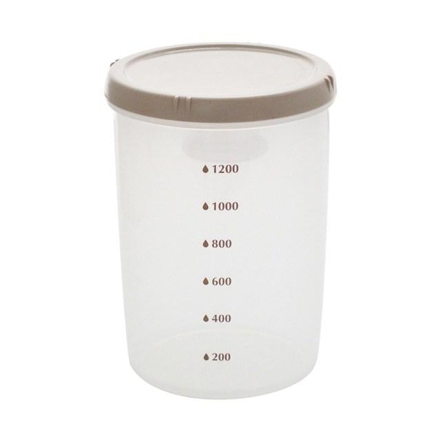 エンバランス 鮮度保持容器 丸・深型(1500ml) 1個