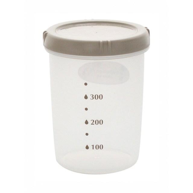 エンバランス 鮮度保持容器 丸・深型(500ml) 1個