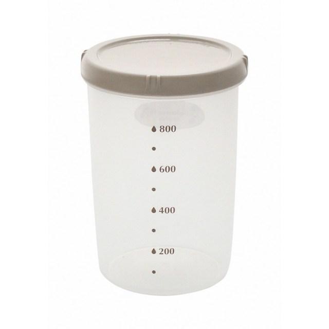 エンバランス 鮮度保持容器 丸・深型(1000ml) 1個