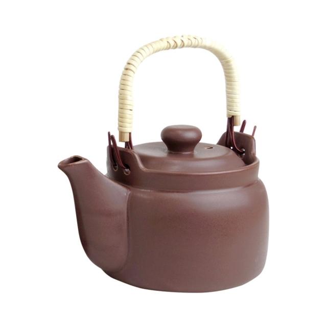 マスタークック けんこう土瓶(小) 茶 700ml