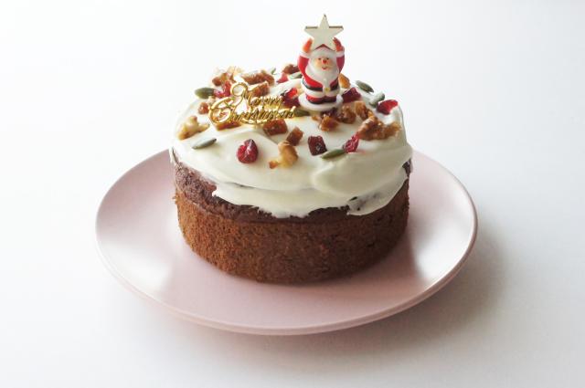 【カムカム倶楽部特選品】 ★予約品★ 禾(のぎ) グルテンフリー クリスマスケーキ φ12cm