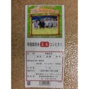 【リマセレクション】 熊本県産有機コシヒカリ 玄米 5kg