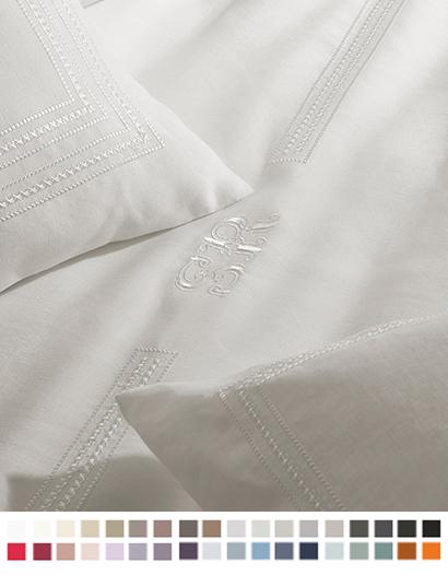 フラットシーツ【キング】全36色 エジプト綿(サテン織り・300TC) 【Amona】